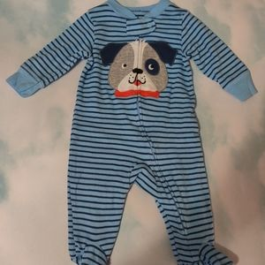 Kid's Carter's One-piece Puppy Dog Footie Outfit